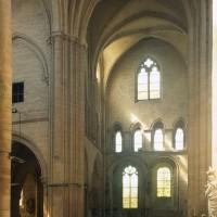 Le bras nord du transept vu vers le nord (1996)