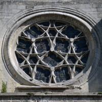 La rose de la façade sud du transept (2017)