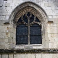 Fenêtre au mur nord de la nef (2016)