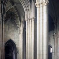 Le bas-côté sud du choeur vu vers le nord-ouest (1996)