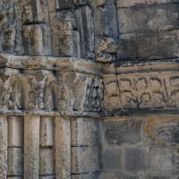 Les chapiteaux des piédroits de droite du portail sud (2017)