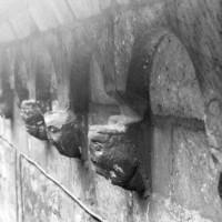 La corniche du mur gouttereau sud (1980)