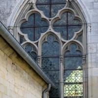 La fenêtre du bras nord du transept (2017)