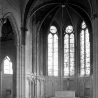 L'abside vue vers le nord-est