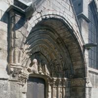 Le portail sud vu du sud-ouest (1996)