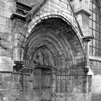 Le portail sud vu du sud-ouest