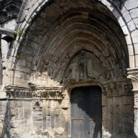 Le portail sud vu du sud-est (2017)