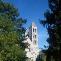 Le clocher sud vu du sud-ouest (1995)