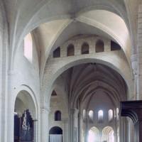 Vue partielle de l'intérieur vers le nord-est (1995)