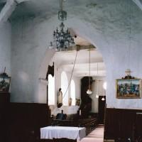 Vue partielle du choeur et de la nef vers le sud-ouest (2004)