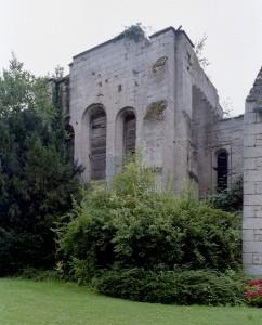 La chapelle vue du nord-est (2007)
