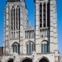 La façade vue de l'ouest
