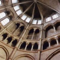 L'élévation du bras nord du transept vue vers le nord-est (2006)