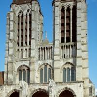 La façade ouest
