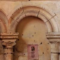 Arcatures aveugles d'une chapelle rayonnante (2007)