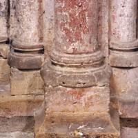 Bases du bras nord du transept (2007)