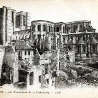 La cathédrale en 1918
