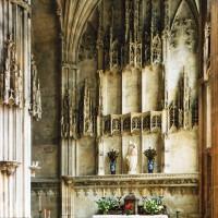 La chapelle de Charles d'Hangest vue vers l'est (2007)