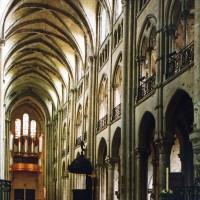 La nef vue vers le nord-ouest (2006)