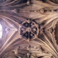 Voûte de la chapelle de Charles d'Hangest (2007)