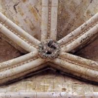 Ogives de la voûte d'une chapelle rayonnante (2007)