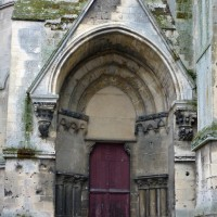 Le portail est du bras sud du transept (2015)