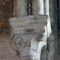 Ogive et chapiteau d'une chapelle du déambulatoire (2007)
