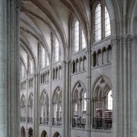 Les parties hautes de la nef vues vers le nord-ouest (2007)