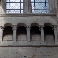 Le triforium de la nef (2007)