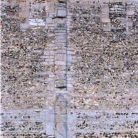 Vue partielle du mur nord de la nef (2004)