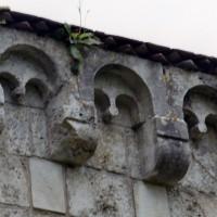 Corniche beauvaisine des chapelles du bras nord du transept (2006)