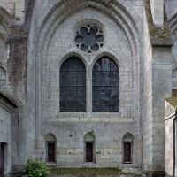 Fenêtre du mur sud de l'infirmerie (2006)