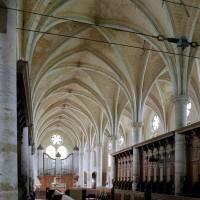 L'intérieur de l'infirmerie vu vers le sud-est (2006)