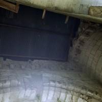 Parties hautes de la façade du 12ème siècle avec la corniche beauvaisine (2006)