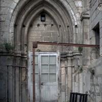 Le revers du portail nord de la façade vu vers l'ouest (2006)