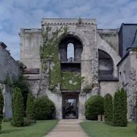 Le revers de la façade vu vers l'ouest ((2006)