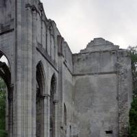 Le bras sud du transept vu vers le sud-est (2006)