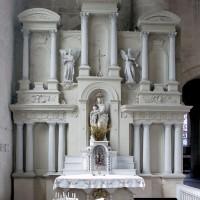 L'autel-retable du bas-côté nord (2008)