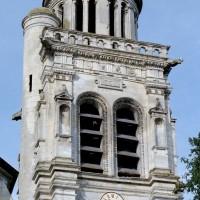 L'étage supérieur du clocher vu de l'est (2008)