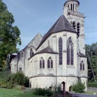 L'église vue du sud-est (2008)