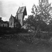 L'église en septembre 1918