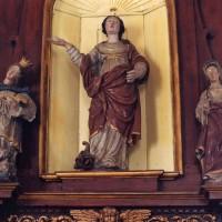 Statues de l'autel-retable sud du choeur (2005)
