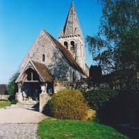 L'église vue du sud-ouest (2003)