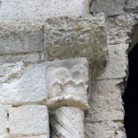 Chapiteau de la fenêtre de la façade ouest (2007)