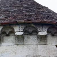 La corniche beauvaisine au sud de l'abside (2007)