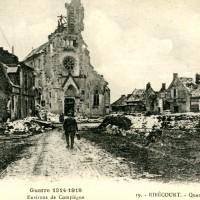 L'église vers 1917
