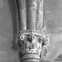 Retombée de voûtes dans le bas-côté nord choeur (1996)
