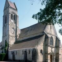 L'église vue du nord-ouest (1996)