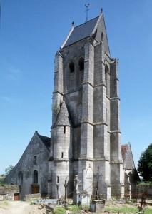L'église vue du sud-ouest (1994)