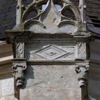 Partie supérieure d'un contrefort de l'abside (2003)